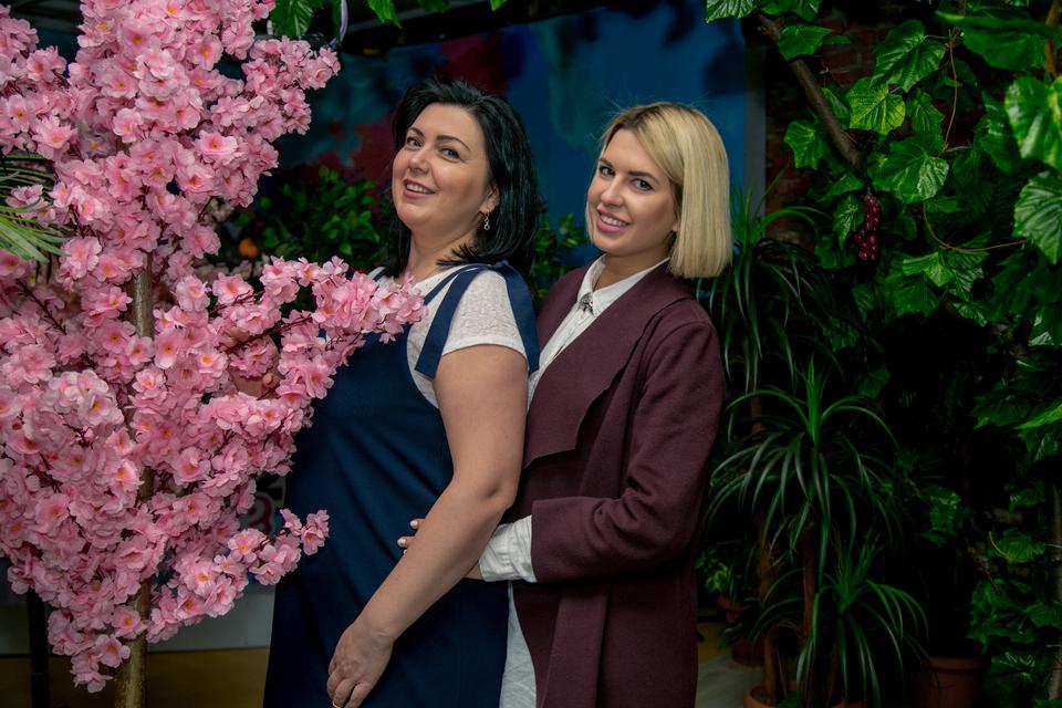 Майя Донцова с мамойФото: Архив журнала «ДОМ−2»