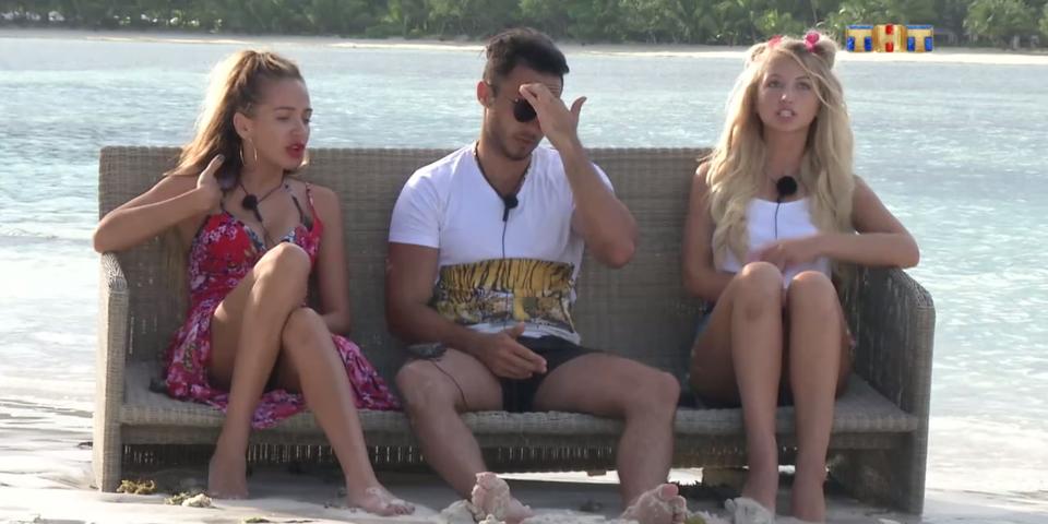 Лиза и Араик недолюбливают МаргоФото: Кадр программы