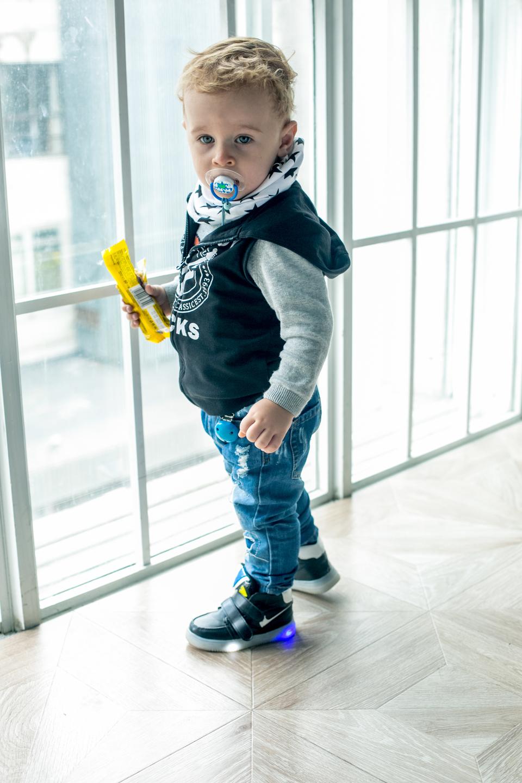 Маленький Миша растет настоящим модникомФото:Личный архив