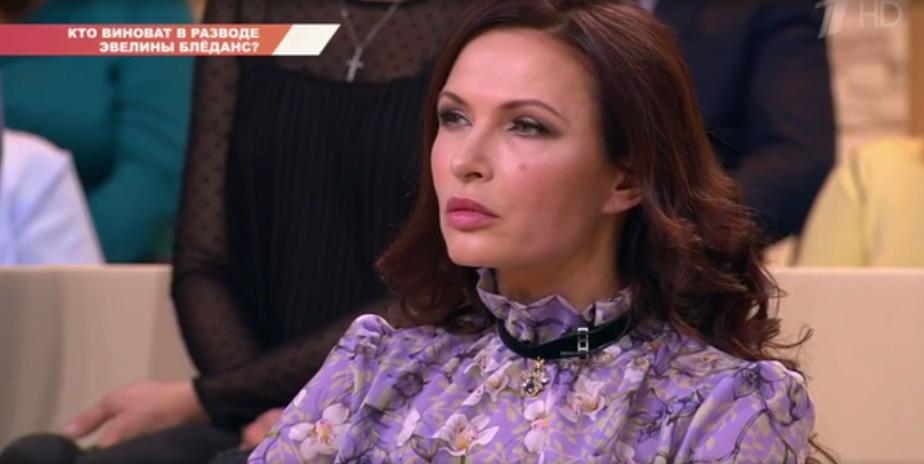 Эвелина БледансФото: Кадр программы «Бабий бунт»