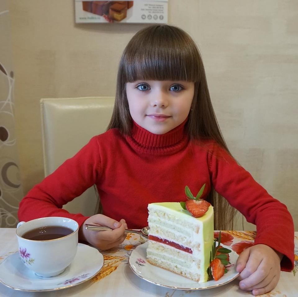 Шестилетнюю девочку признали «самым красивым ребенком в мире»Фото: «Инстаграм»