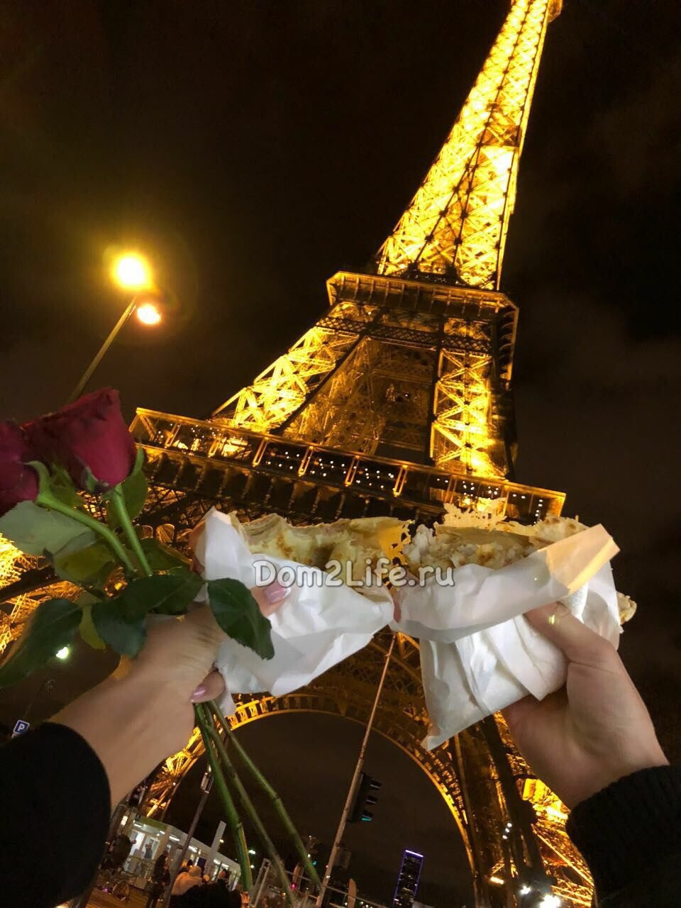 Влюбленные уже побывали в ПарижеФото: Архив сайта Dom2Life.ru
