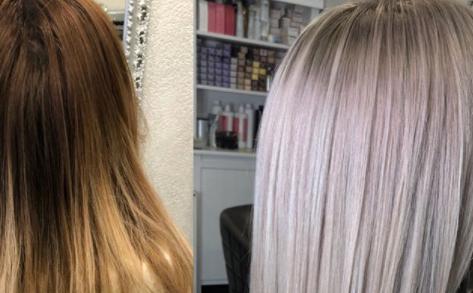Волосы Лизы до и после окрашиванияФото: «Инстаграм»