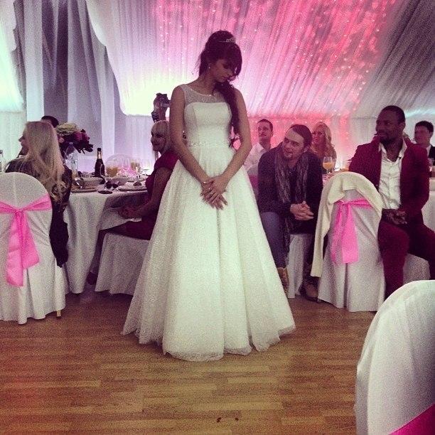 Алиана Устиненкона своей первой свадьбеФото: «Инстаграм»