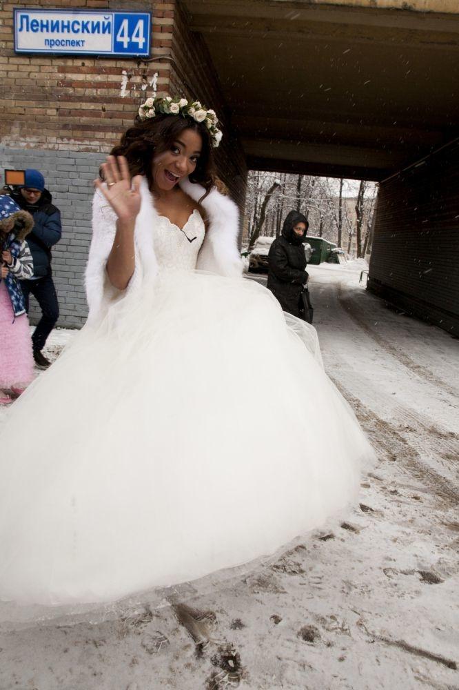 Либерж была ослепительна всвадебном платье Фото: «Инстаграм»