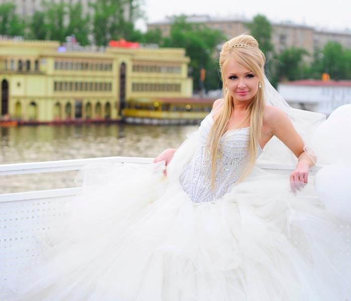Дарья Пынзарь насвадьбе напоминала белоснежное облако Фото: «Инстаграм»