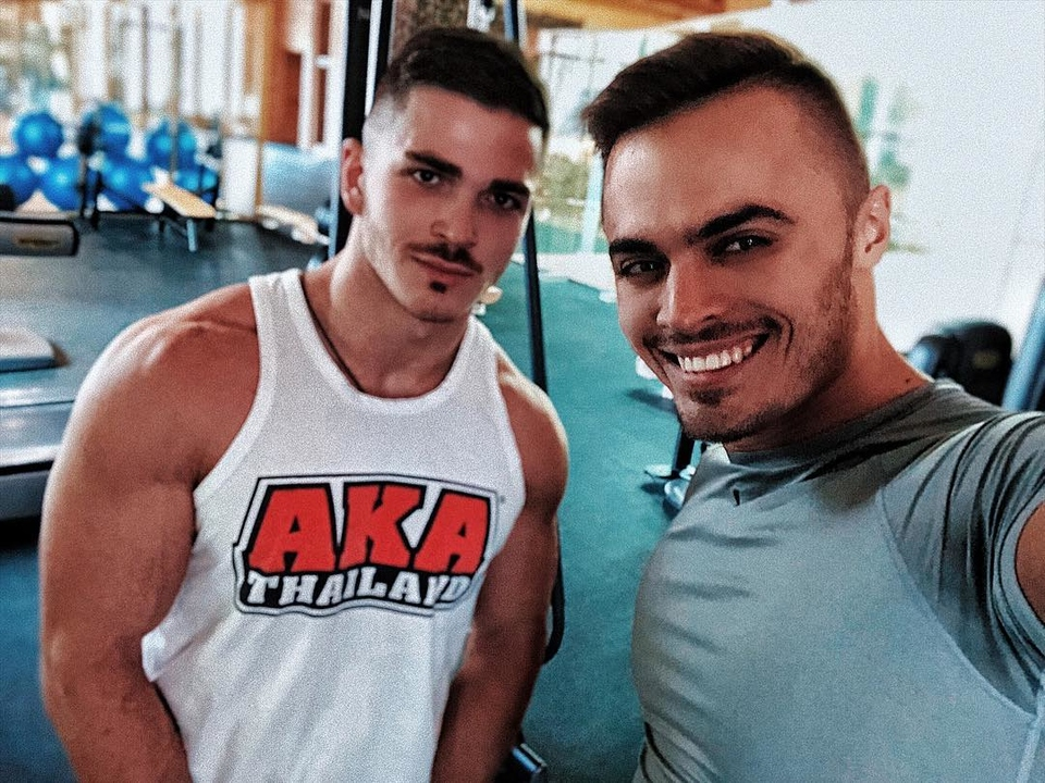 Рома и Леша остались в МосквеФото: «Инстаграм»