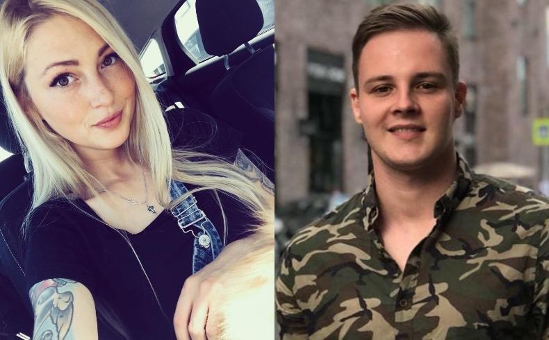 Екатерина Скютте и Женя АмельченкоФото: «Инстаграм»