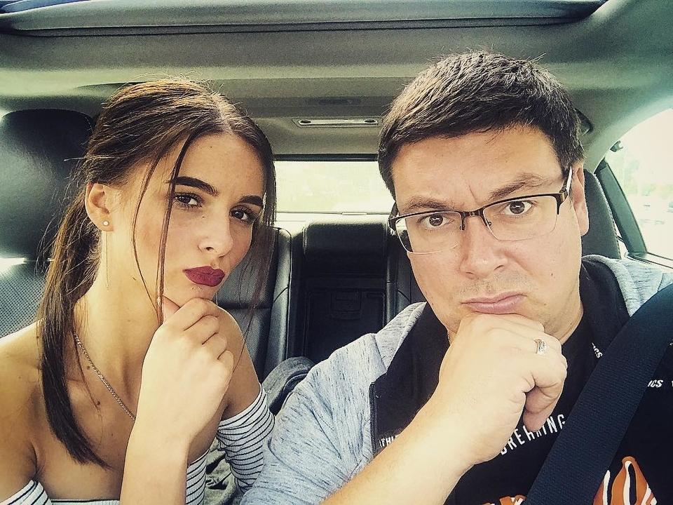 Вдекабре будет год, как Андрей Чуев иего жена Виктория Морозова живут вбраке Фото: «Инстаграм»