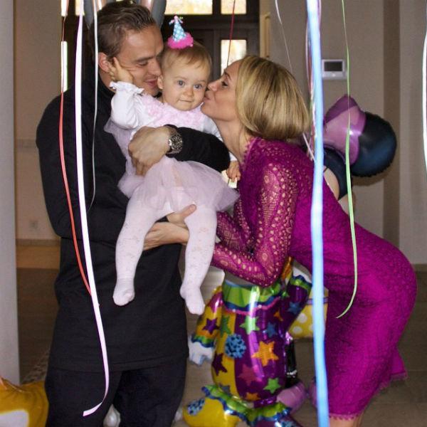 Мария сдочкой Алисой ибывшим мужем Андреем Ещенко Фото: Соцсети