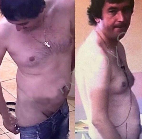 Шабарин сверкнул голыми прелестями Фото: «Инстаграм»