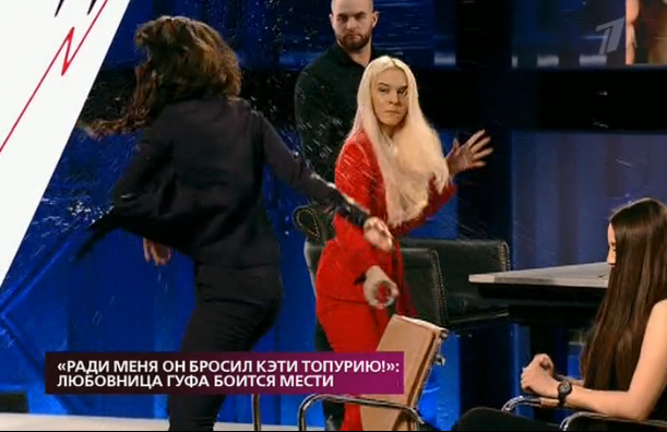 Экс-участницы «ДОМа-2» поскандалили прямо встудии Фото: Кадр программы