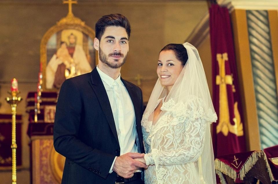 Тигран иЮля венчались икрестили детей водной церкви Фото: «Инстаграм»