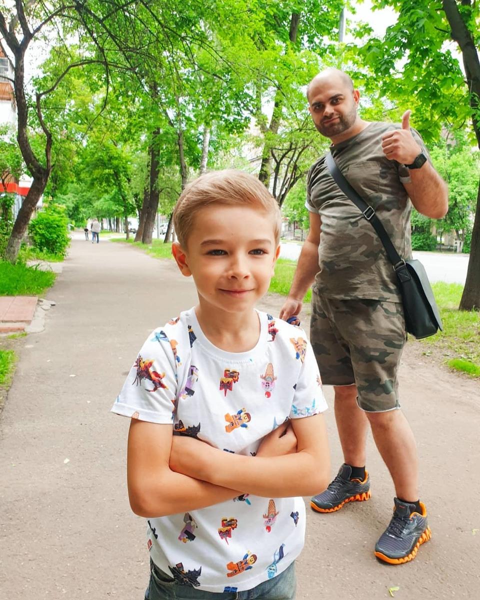 Группа поддержки Ольги— муж исын Фото: «Инстаграм»