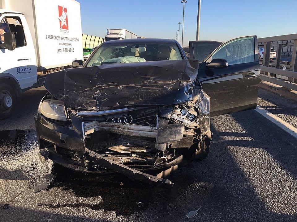 Ольга Жарикова разбила свою машину Фото: «Инстаграм»