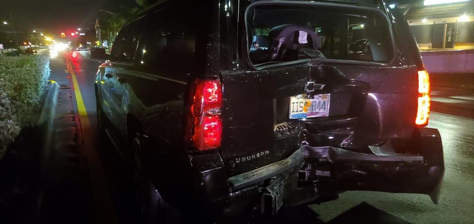 Автомобиль Алессандро пострадал вДТП Фото: Личный архив