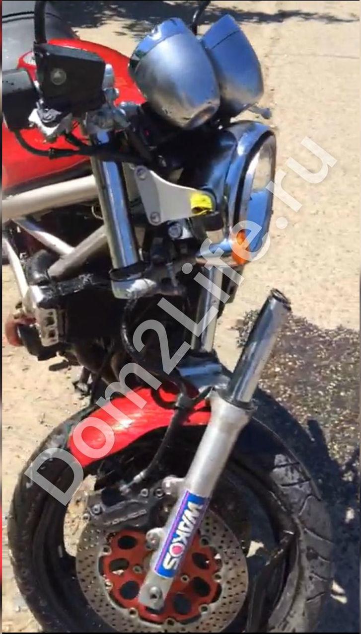 Сергей хотел продать мотоцикл, нонеуспел Фото: архивDom2Life.ru