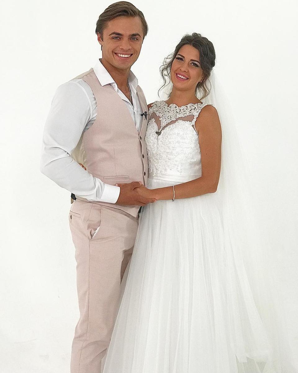 Лёша иМайя поженились 8августа, ноих официальное торжество намечено надругую дату Фото: «Инстаграм»