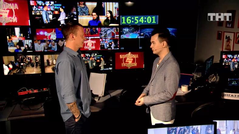 Рома признался Антону, что наладил общение сженой Фото: Кадр шоу «Бородина против Бузовой»