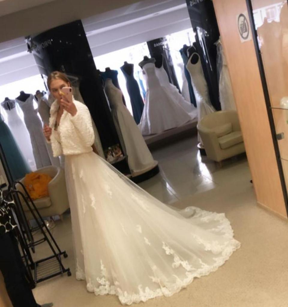 Яна показывала вмикроблоге свадебный наряд Фото: «Инстаграм»