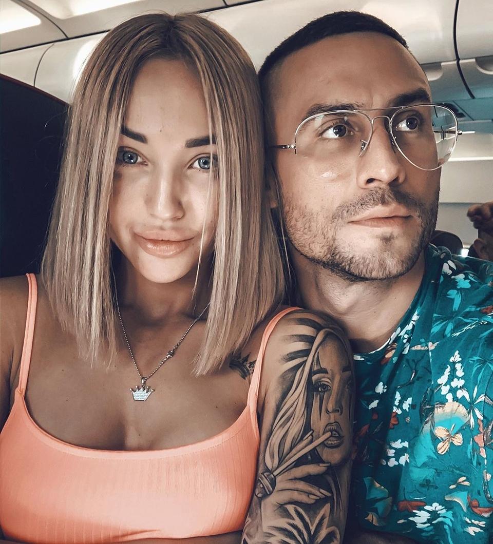 Сейчас экс-супруга Мацьолека строит любовь сновым бойфрендом Артёмом Фото: «Инстаграм»