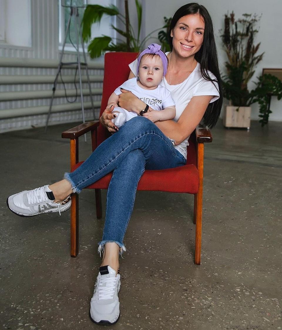 Клочко воспитывает дочь Стефанию Фото: «Инстаграм»