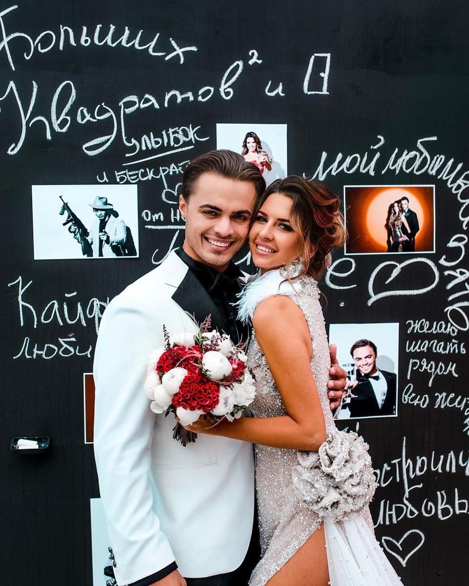 19августа Лёша иМайя стали мужем иженой Фото: АрхивDom2Life.ru
