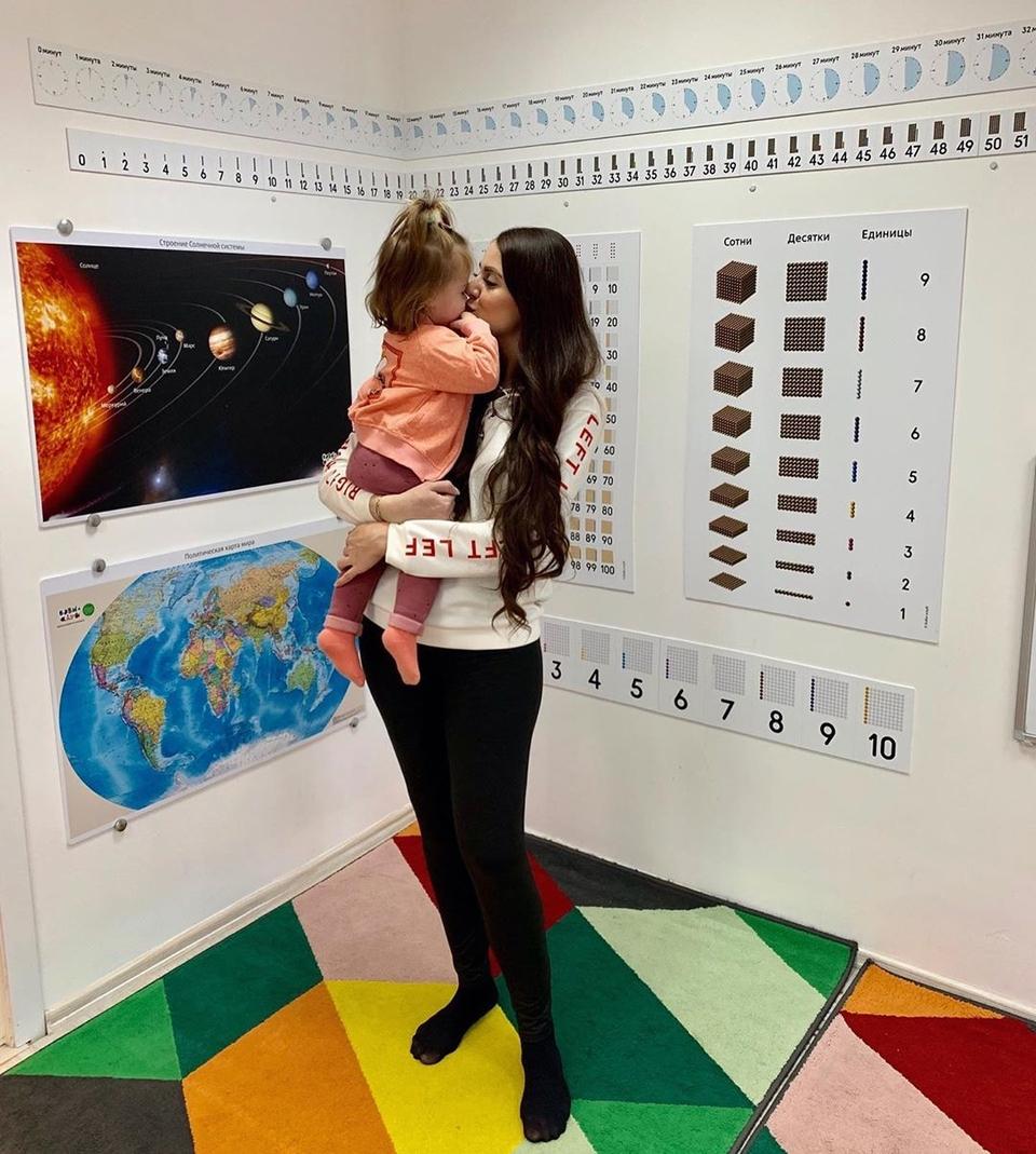 Оля иДима отдали дочь вразвивающий кружок Фото: «Инстаграм»