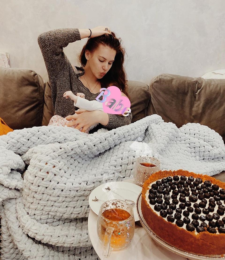 Саша переживает замаленькую дочку Фото: «Инстаграм»