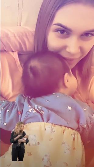 Малыш Яныневыглядит недоношенным Фото: Instagram